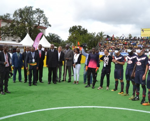 CAN Cecifoot 2015 lancement
