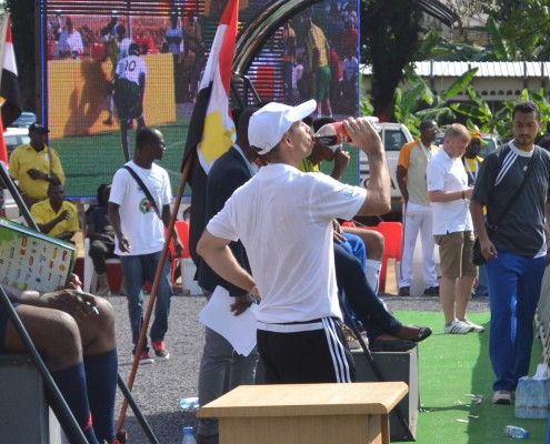 Cecifoot Douala 2015