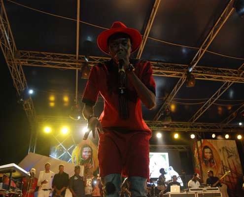 X-maleya en concert à Yafé édition 2015