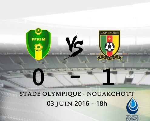 match de football Cameroun Mauritanie