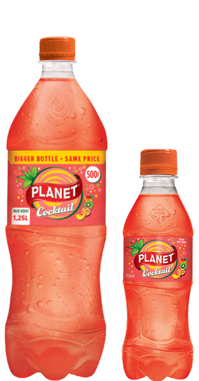 Boisson gazeuse Planet Cocktail