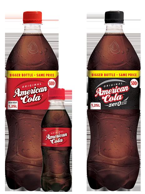 Boisson gazeuse American Cola