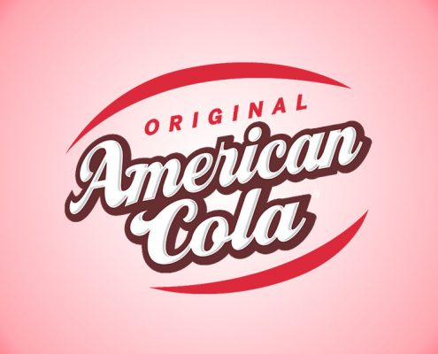 Logo American cola