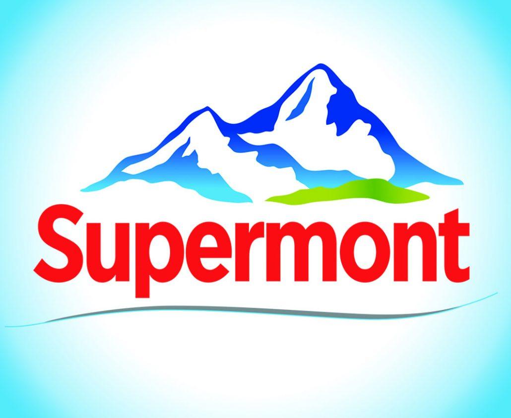 Logo Eau minerale naturelle Supermont