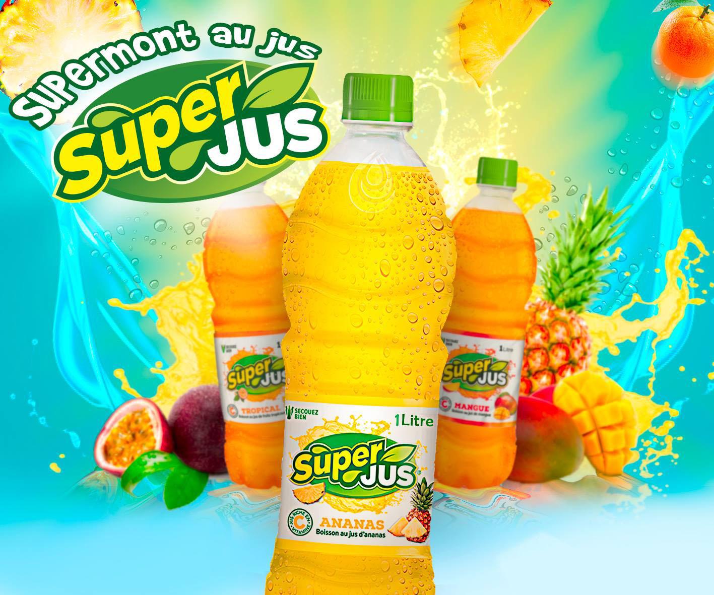 Boisson naturelles Super jus