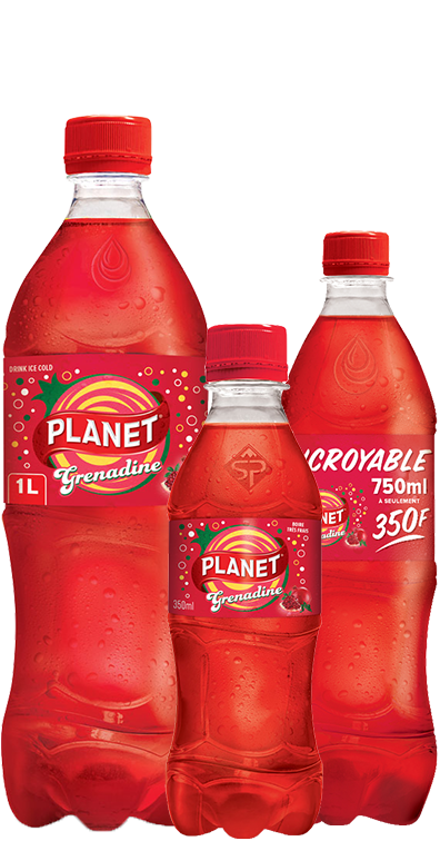 Boisson gazeuse PLANET Grenadine