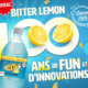 Bubble Up Bitter Lemon 100ans