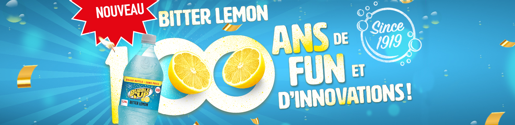 bubble Up Bitter Lemon
